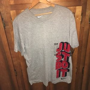 NWT just do it Nike tee T-shirt Large